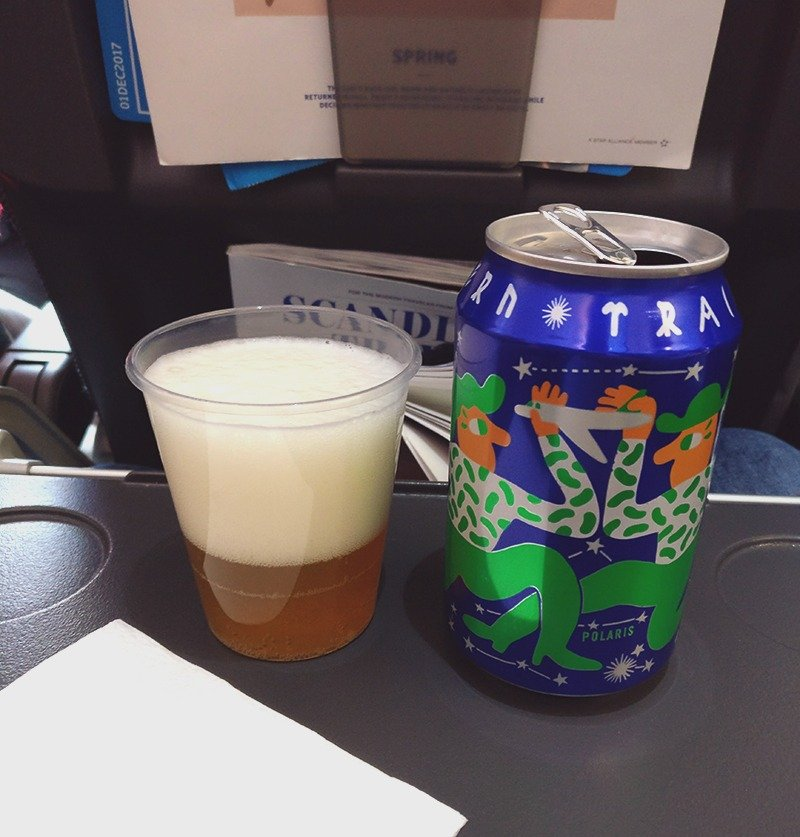 Mikkeller Northern Trails - SAS Airlines