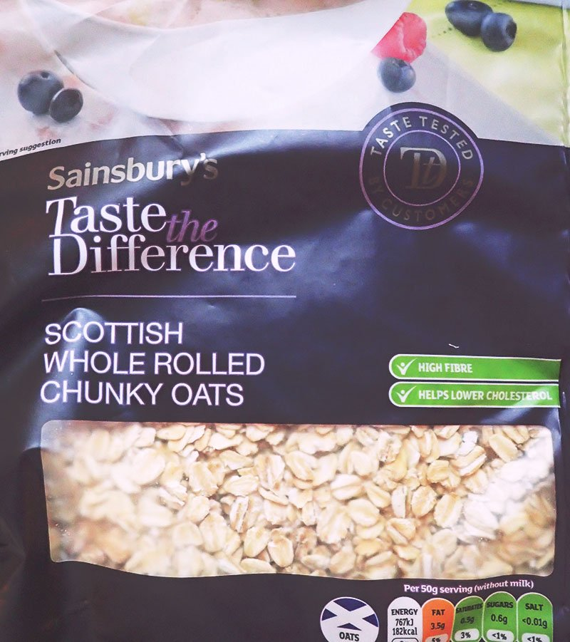 Sainsburys Scottish rolled porridge oats