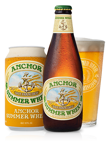American Wheat Beer - Anchor Summer Wheat